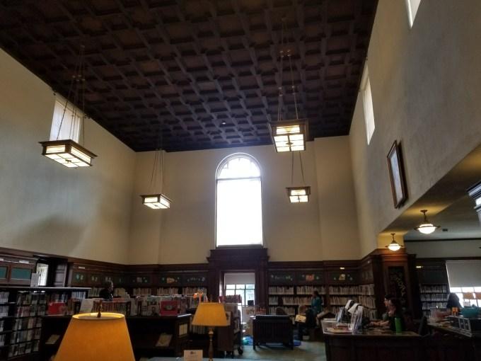 Checkin Pasadena Public Library – Central