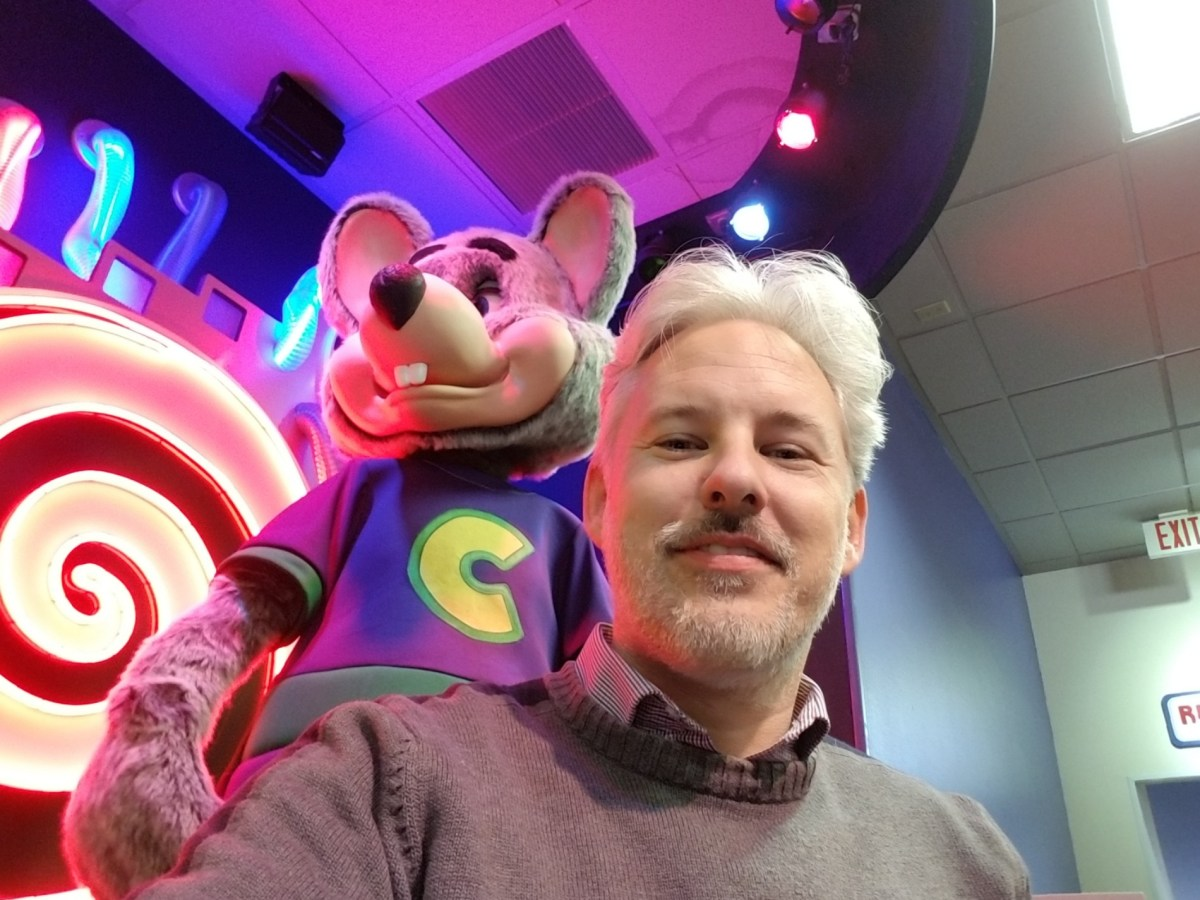 Checkin Chuck E. Cheese's