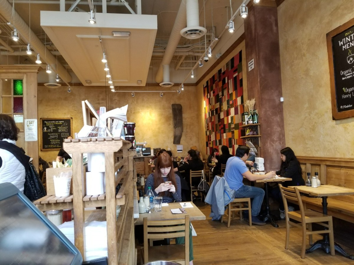 Checkin Le Pain Quotidien
