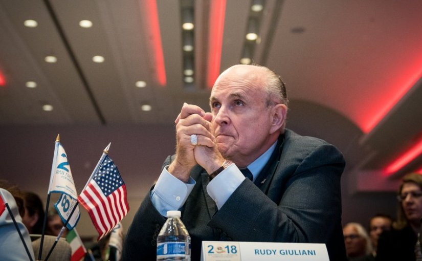🎧 'The Daily': The Return of Rudy Giuliani | New York Times