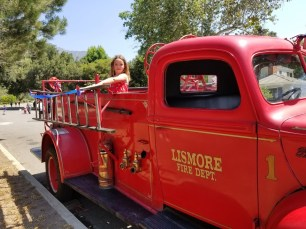 Didn't get to ride on the firetruck? Come check it out after-the-fact.