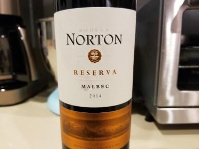 Bodega Norton Reserva Malbec (2014) wine