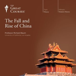 Album cover of lecture series with brown background, title, and photo of a Chinese pagoda
