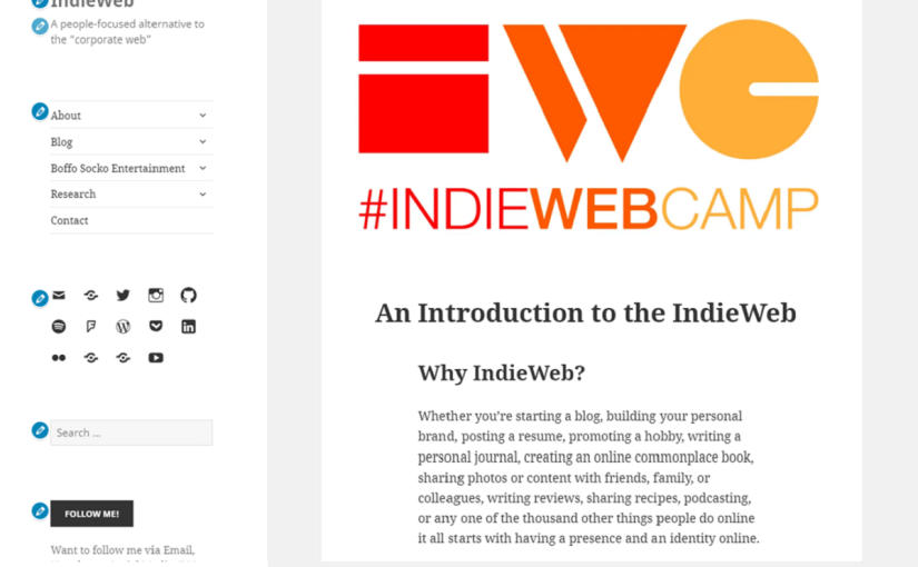 IndieWeb Twenty Fifteen WordPress Theme