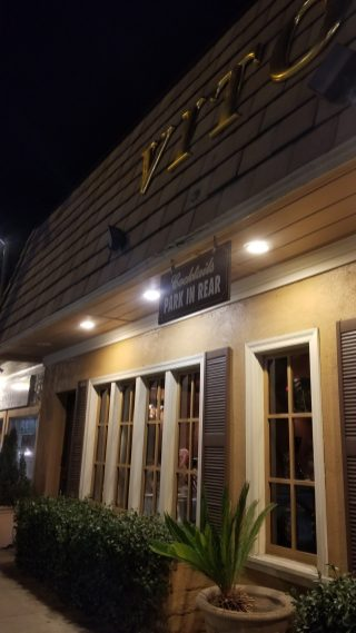 Vito's Restaurant exterior