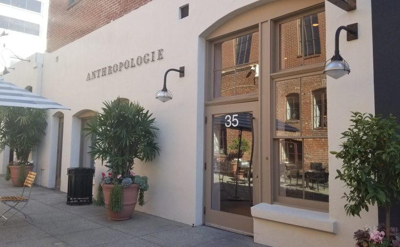 Exterior of Anthropologie