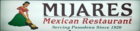 Mijares Restaurant sign