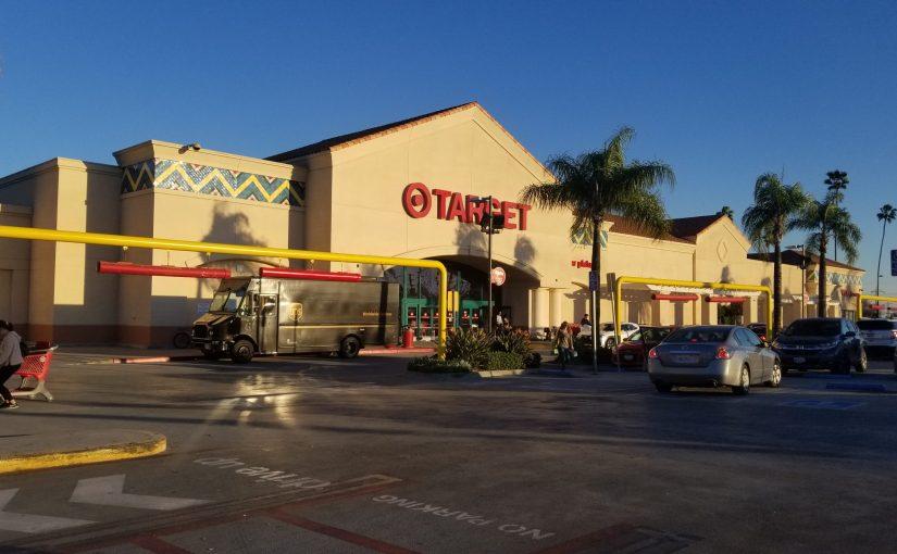 Exterior of Target in East Pasadena