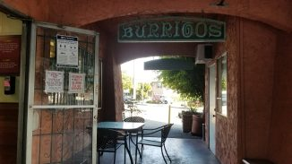 Breezeway at Burrito Express
