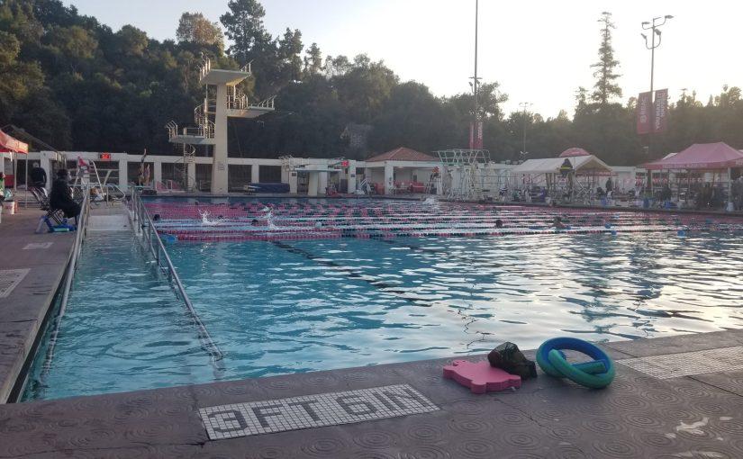 poolside at Rose Bowl Aquatics