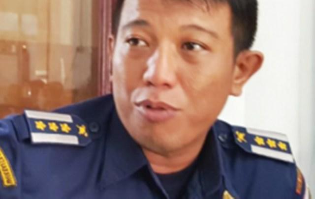 Kepala Bidang Damkar Kotamobagu Erwin Sugeha.