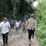 Bupati Bolsel Tinjau Langsung Sumber Air Bersih di Batu Dingin Pegunungan Milangodaa