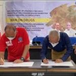 PT PP (Persero) teken Mou Bersama BNNP Sulut terkait Program Pencegahan Narkoba