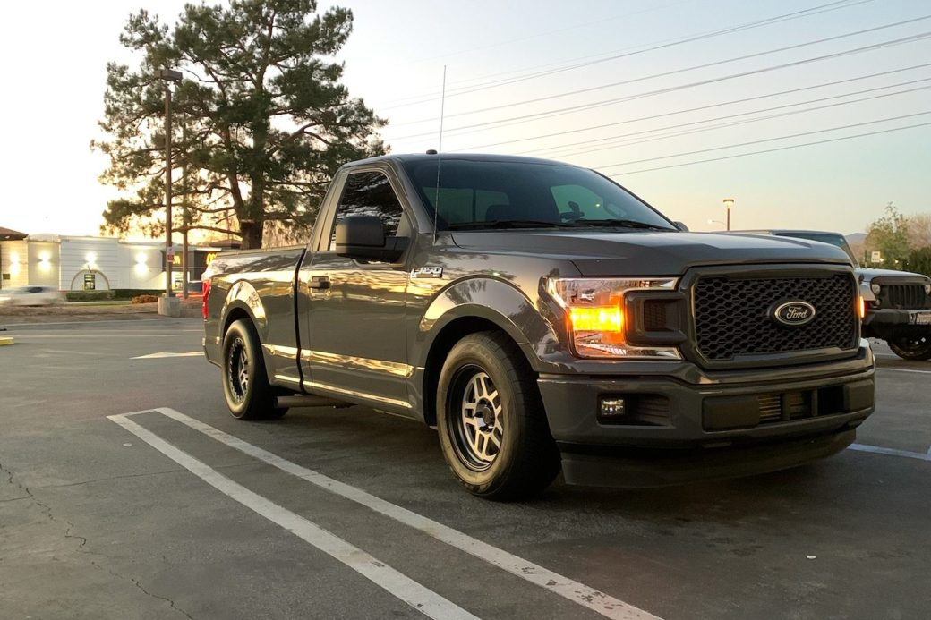 Ford F150 with Bogart Wheels