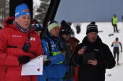 Tränarstaben välsamlad med bl.a Roland Villför, Jussi Piirainen och Vesa Mäkipää.