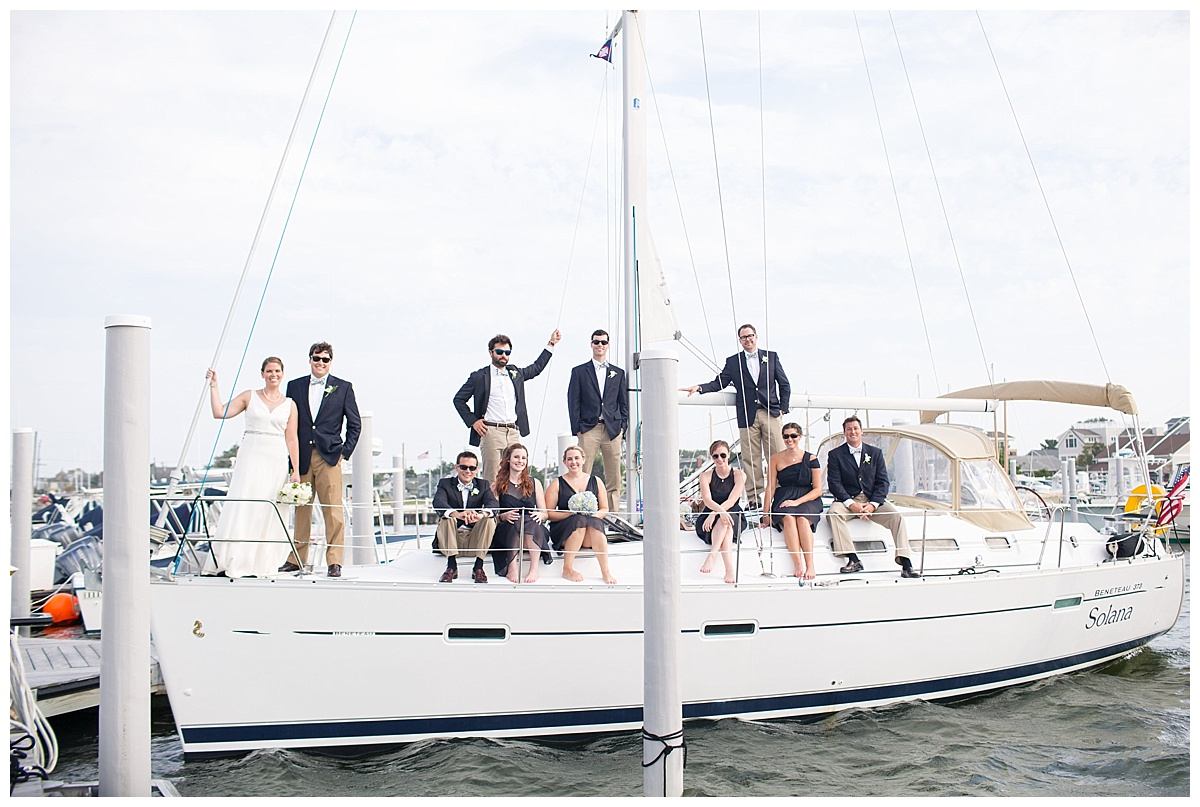 Little Egg Harbor Yacht Club Wedding Kathleen Amp Richard