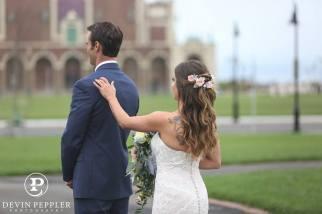 Asbury Park Wedding First Look Photography