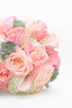 summer rustic pink nautical bridal bouquet