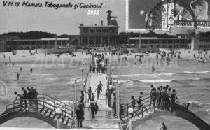 Debarcader Mamaia Cazinou în 1938