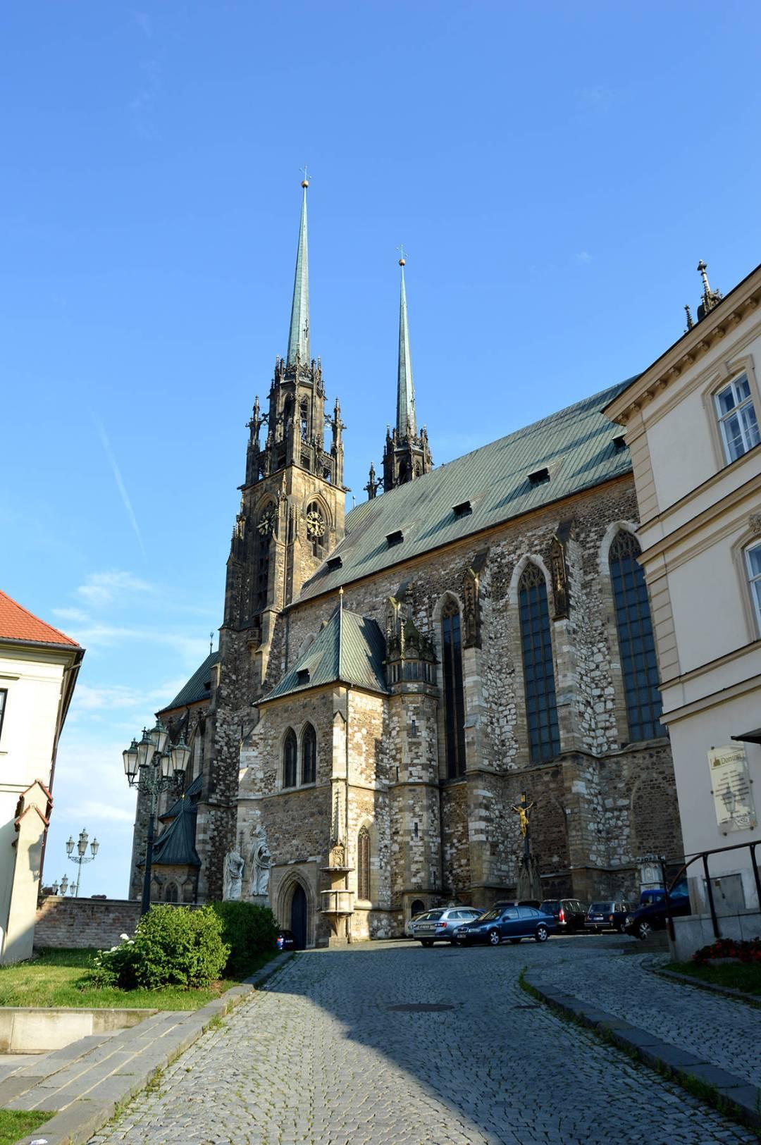 Catedrala din Brno in toata splendoarea ei