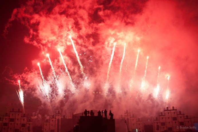 Constitution Square New Year's Show