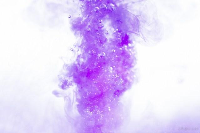 Purple and bubbles