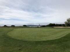 Side view of 14th green.