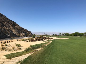 New 14th tee view.