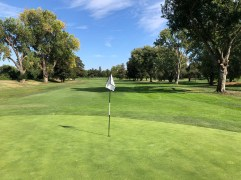 Middle - behind 5th green.