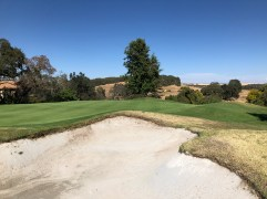 Side view of 4th green.