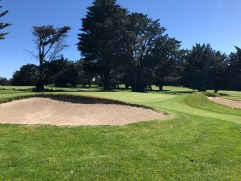 View of 16th green.