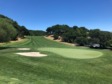 Another look back at the 5th from the 6th tee.