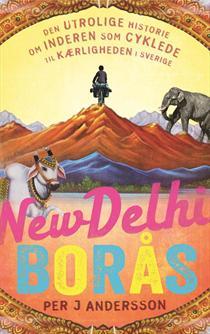 New Delhi -Borås Book Cover