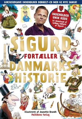 Sgurds fortæller Danmarks historie Book Cover
