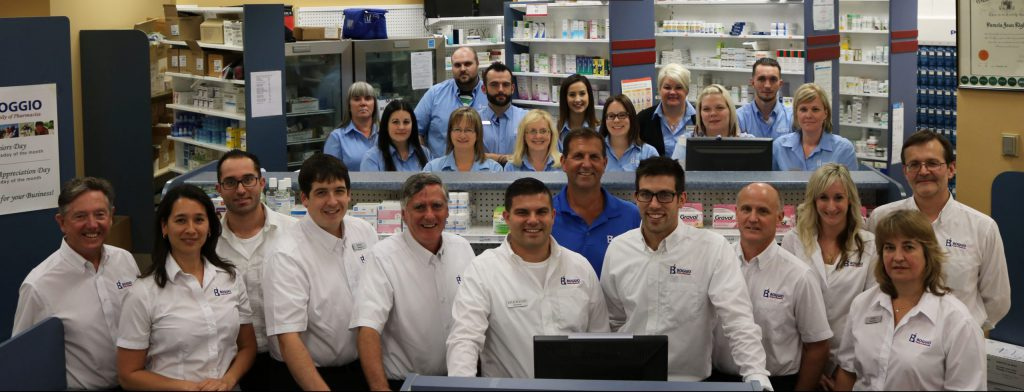 Photo of the Team at Boggios