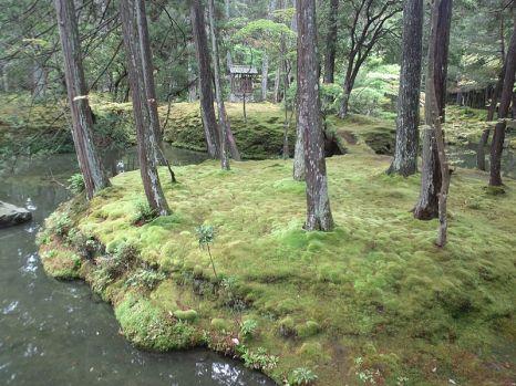 Saihô-ji Temple moss garden (photo: Yanagin33 via Wikimedia Commons)