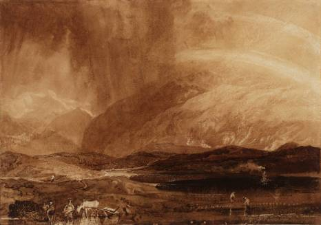 'Peat Bog, Scotland (c.1808)' by J. M. W. Turner. (Copyright: Tate, London, UK)