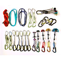 how to build a trad rack for climbing