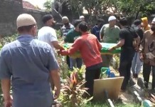 Pemakaman Bocah Korban Gempa Bali