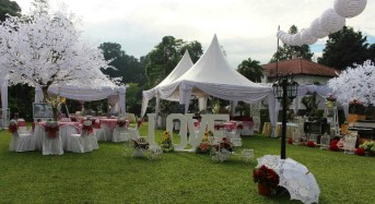 Diva Catering Kebanjiran Order Outdoor Wedding
