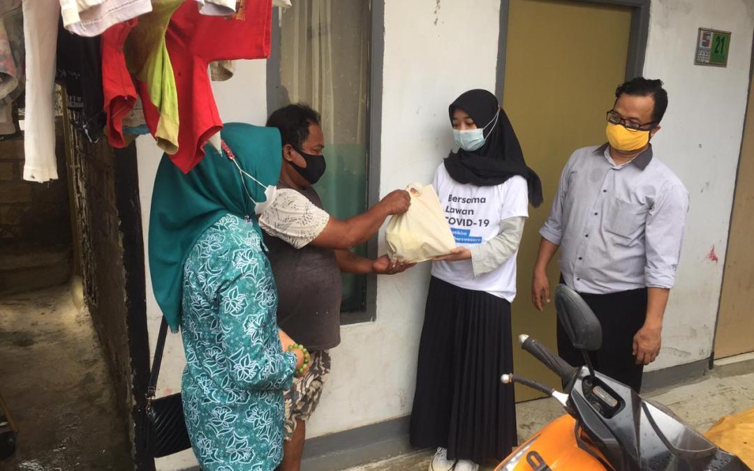 Bogor Ngariung, Jabar Bergerak Kota Bogor dan Relawan Distribusikan 1000 Paket Makanan Sehat