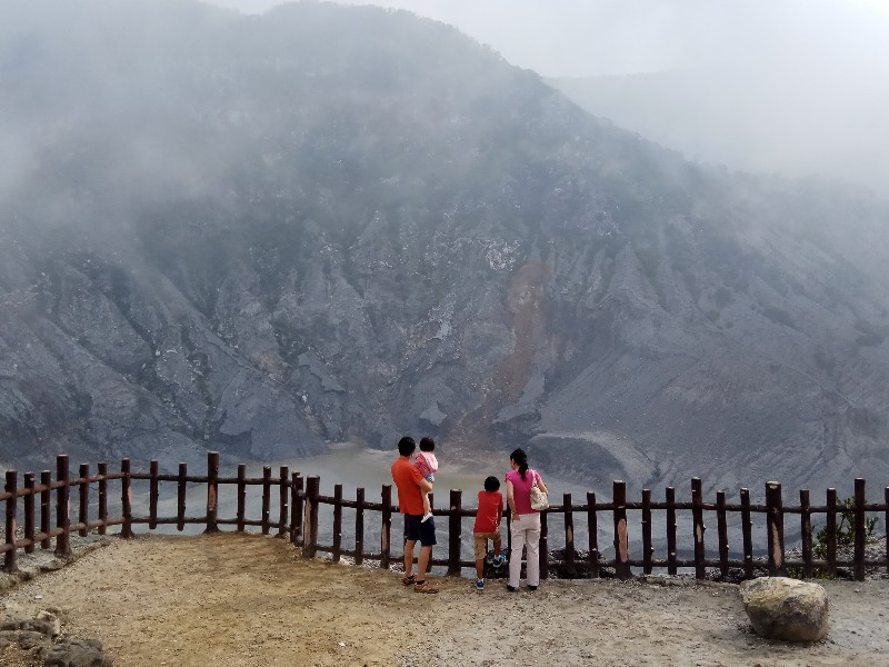 Tangkuban Parahu Volcano