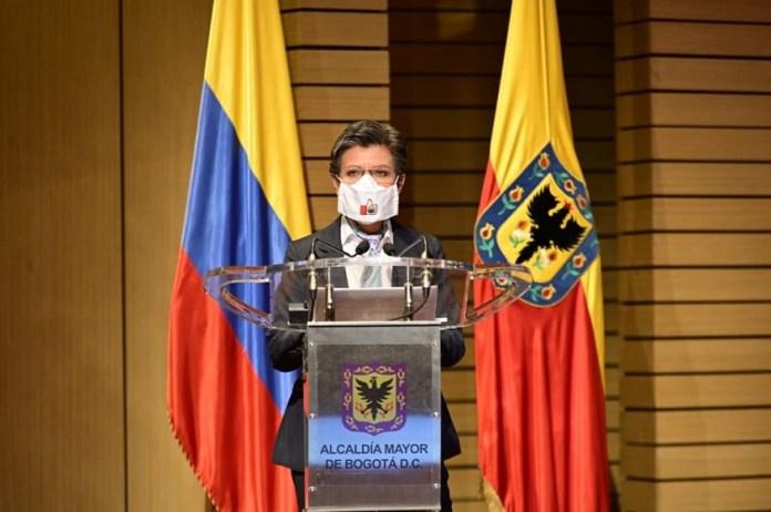 Alcaldesa Claudia López anunció cambios en las medidas de la Nueva Realidad - Foto: Comunicaciones Alcaldía Bogotá