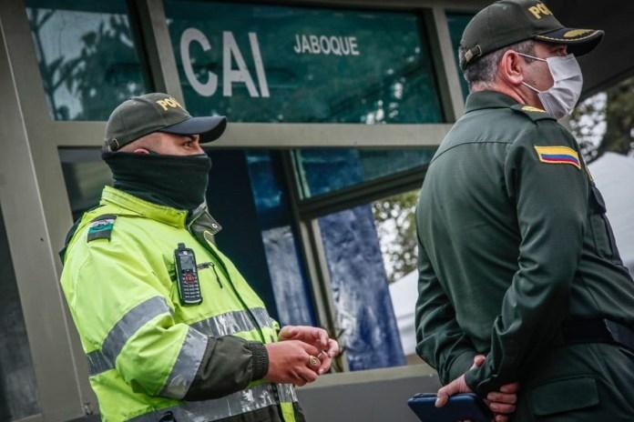 CAI móviles para reforzar seguridad en zonas afectadas - Foto: Comunicaciones Alcaldía Bogotá