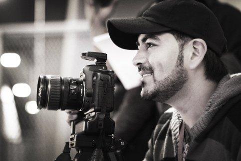 El director de la película, Carlos Del Castillo