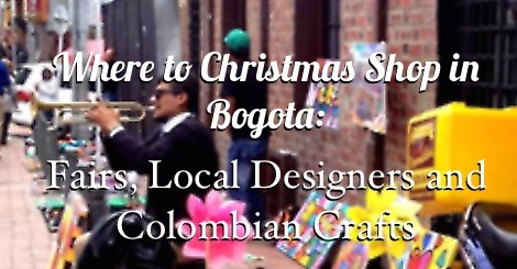 usaquen market, where to christmas shop in bogota