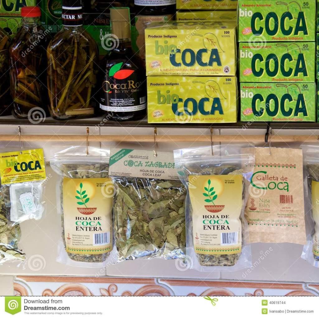 coca-tea-bogota-colombian souvenirs