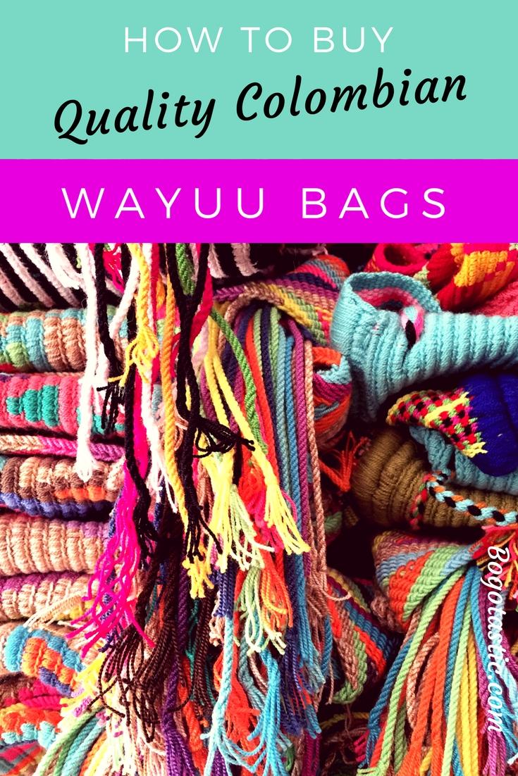 "How To Buy A Quality Colombian Wayuu ""Mochila"" Bag ..."