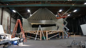 The Acme Stage where we built our set