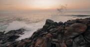 Sunset on Molokai - La`Au Point